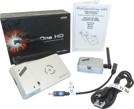 FlyCamOne HD Transmission Set 5,8 GHz 720p & 1080p