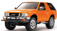 RC ISUZU MU Type X CC-01 1:10 Bausatz Kit