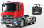 RC XB Mercedes-Benz Arocs 3363 Rot/Grau Full Option 1:14